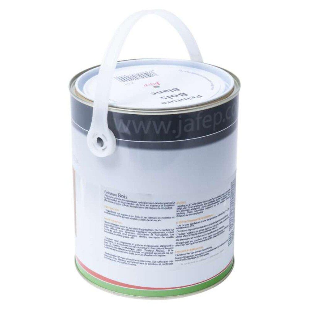 Peinture Bois Blanc Jafep 2,5 L