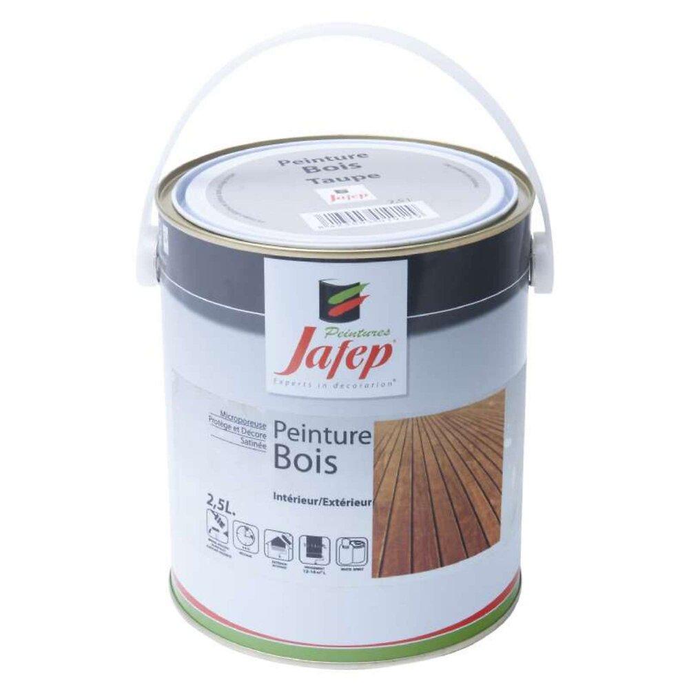 Peinture Bois Taupe Jafep 2,5 L