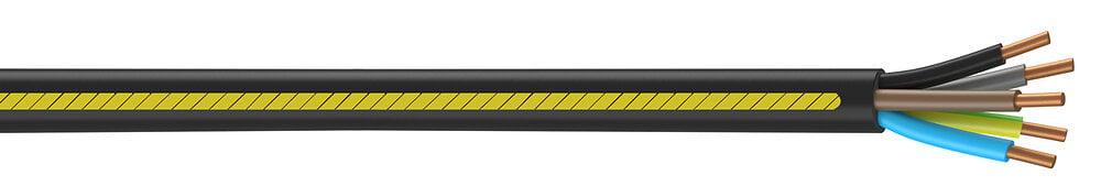 Câble électrique U1000 R2V 5G2,5mm² à la coupe