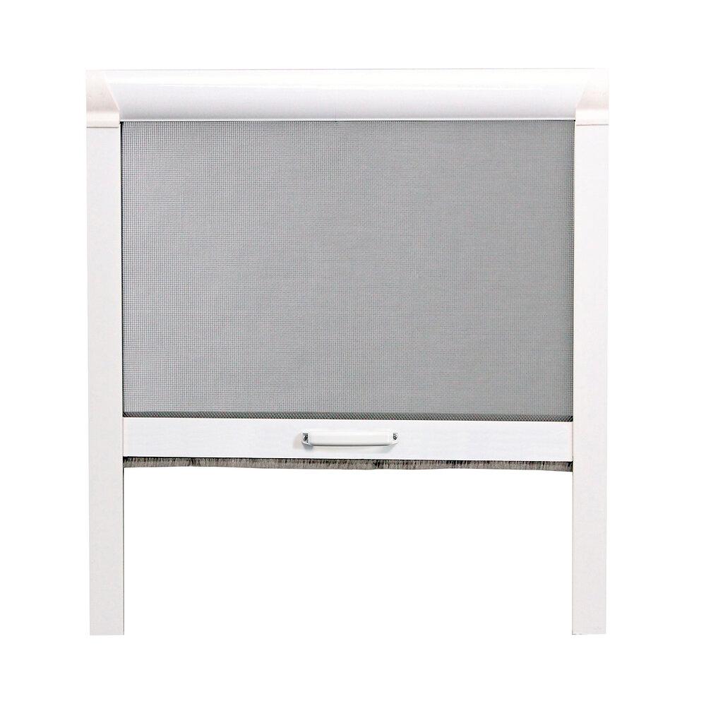 Moustiquaire enroulable verticale L.125xh.160cm Aluminium