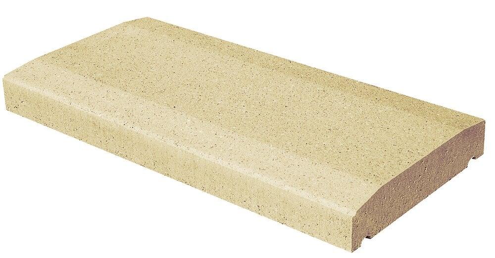 Dessus de mur, sable longueur 50cm largeur 25cm épaisseur 5cm
