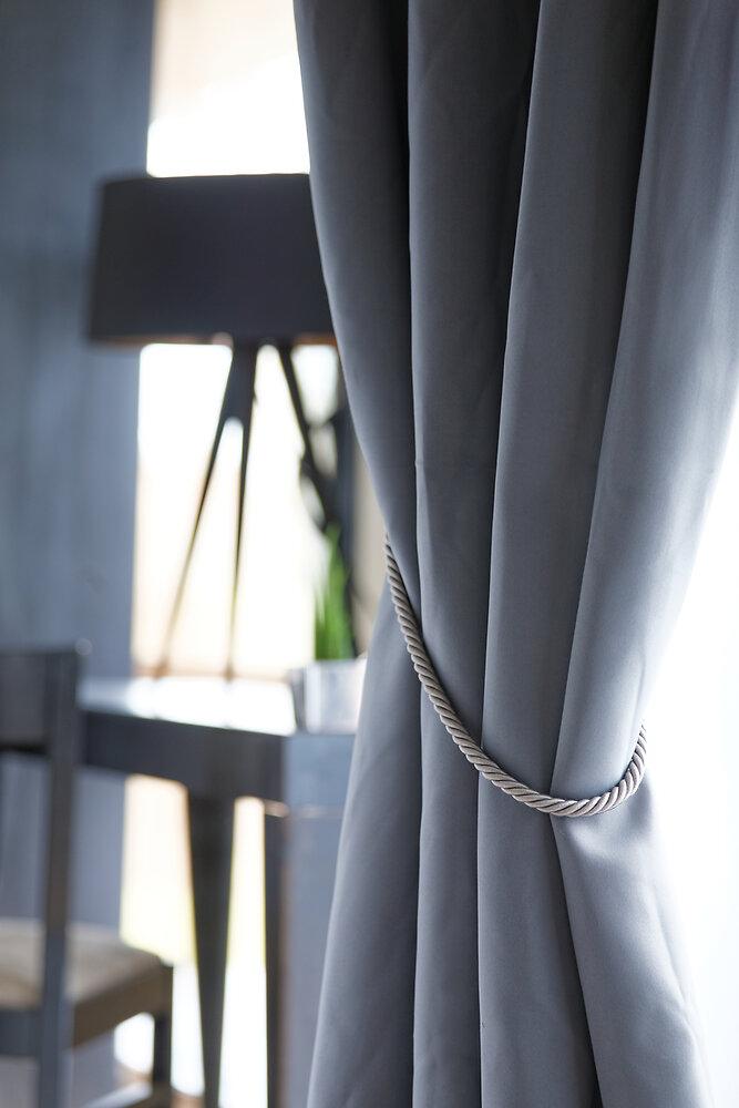 Embrasse à rideaux torsadée Van Lathem ivoire
