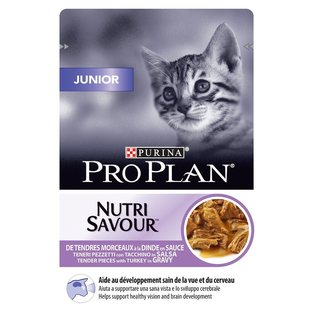 Aliment chaton Junior - Dinde - 85g