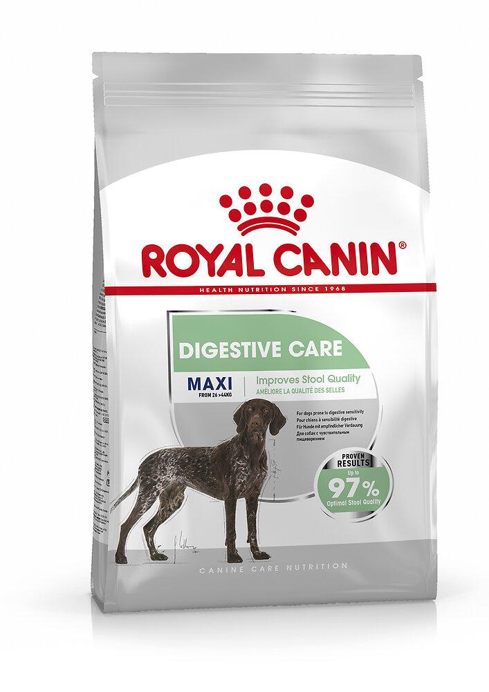 Croquettes chien MAXI DIGESTIVE CARE GRAND SENSIBILITE DIGESTIVE 10KG