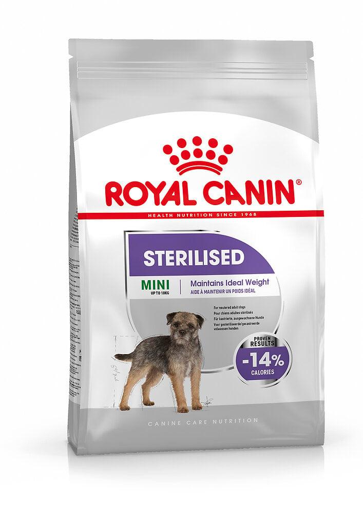 Croquettes chien MINI STERILISED 1kg