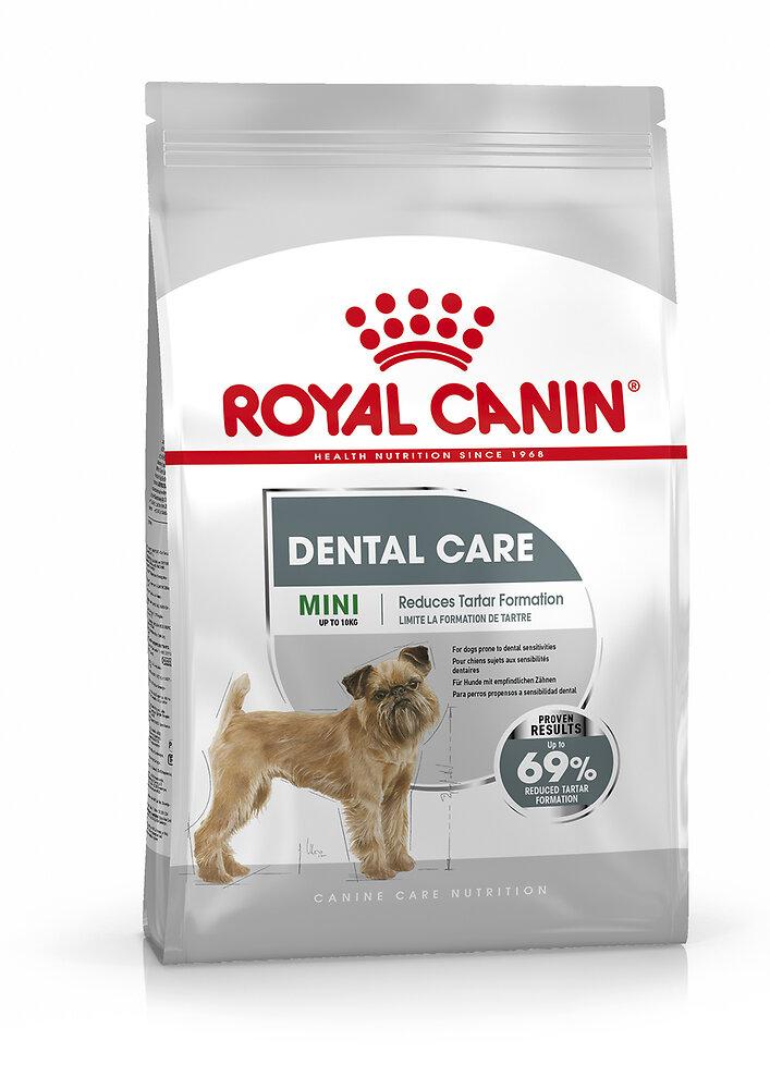 Croquettes chien MINI DENTAL CARE 1kg