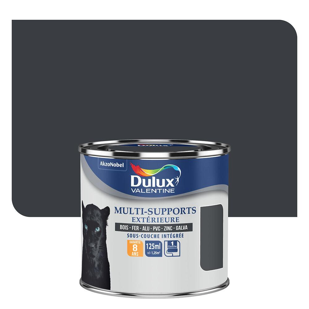 Peinture MULTI-SUPPORTS EXTERIEURE SATIN Gris Sombre 0.125L