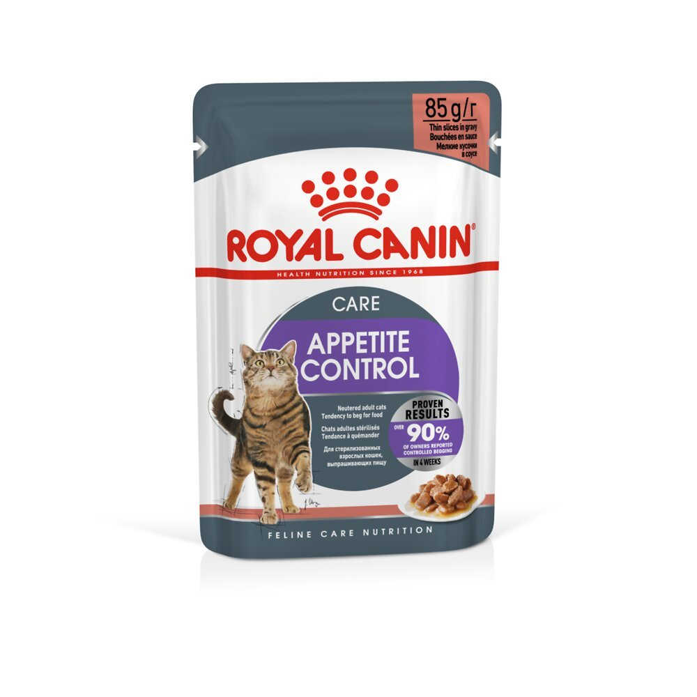 Aliment chat APPETITE CONTROL CARE SAUCE - 12x85g