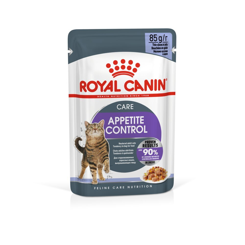 Aliment chat APPETITE CONTROL CARE GELEE - 12x85g