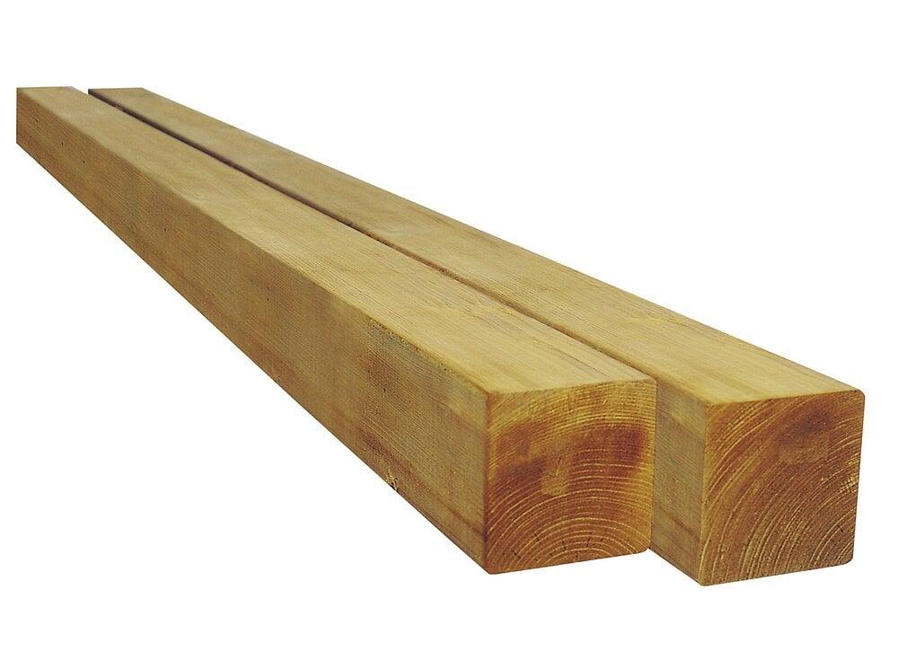 Poteau carré pin
