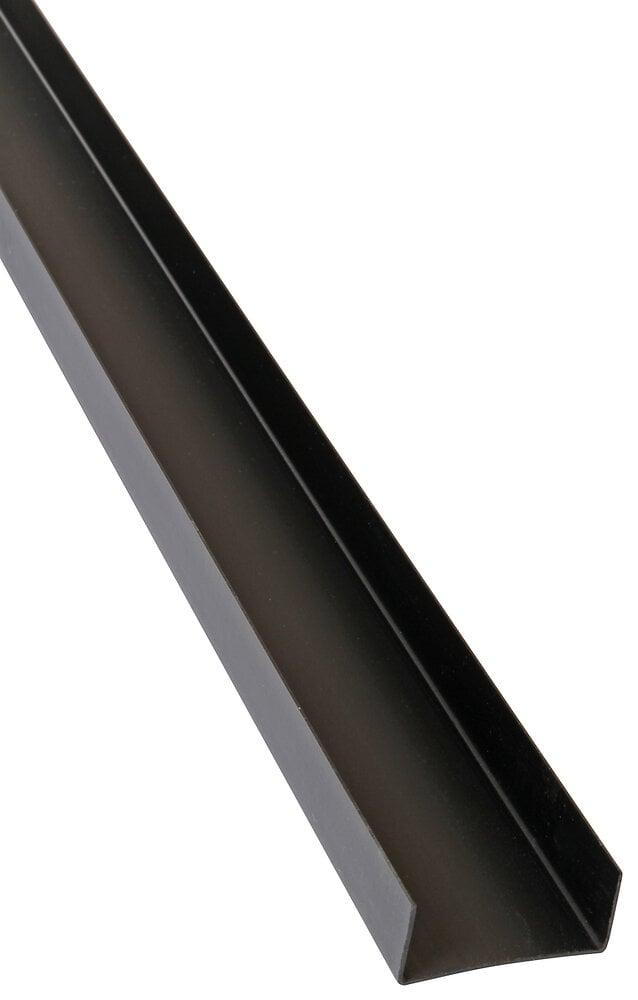 Profil U plastique, largeur 50mm, Longueur 3m
