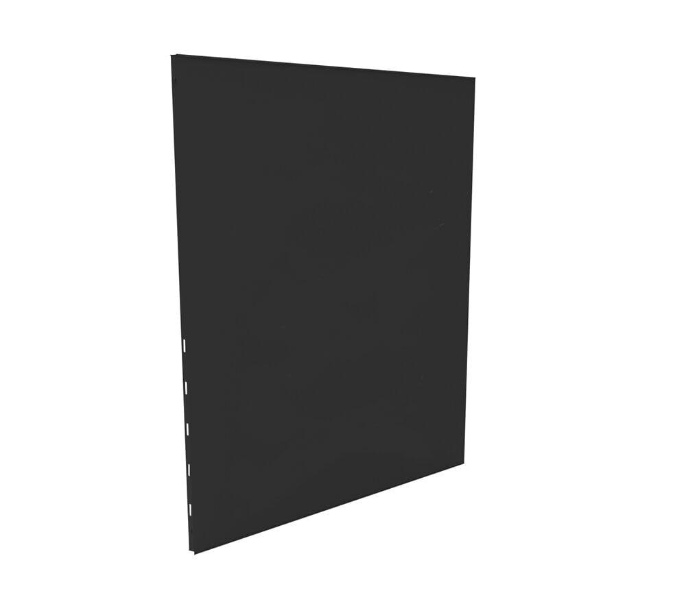 Protection murale unie noir / blanc 60x100 cm.