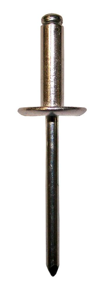 Blister 40 rivets en aluminium 4x16.5mm