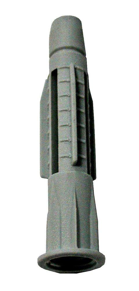 Blister cheville à collerette 10x120mm + vis