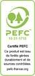 Plan stratifié ciment brossé 300x65cm épaisseur 38mm PEFC 75%