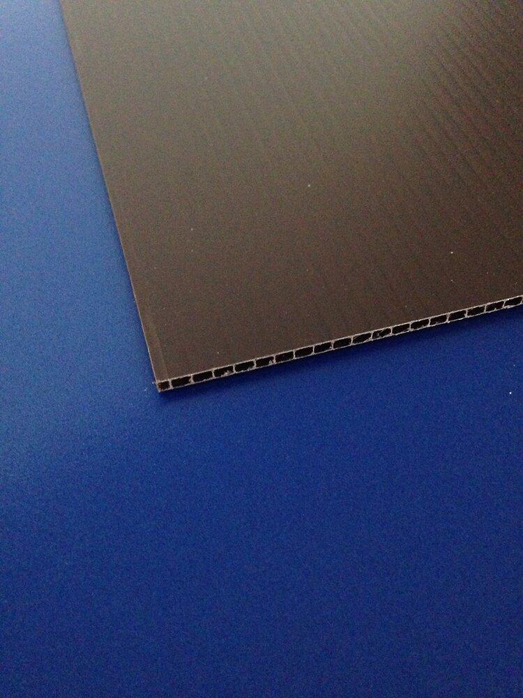 Plaque alvéolaire marron 500x500x2.5mm