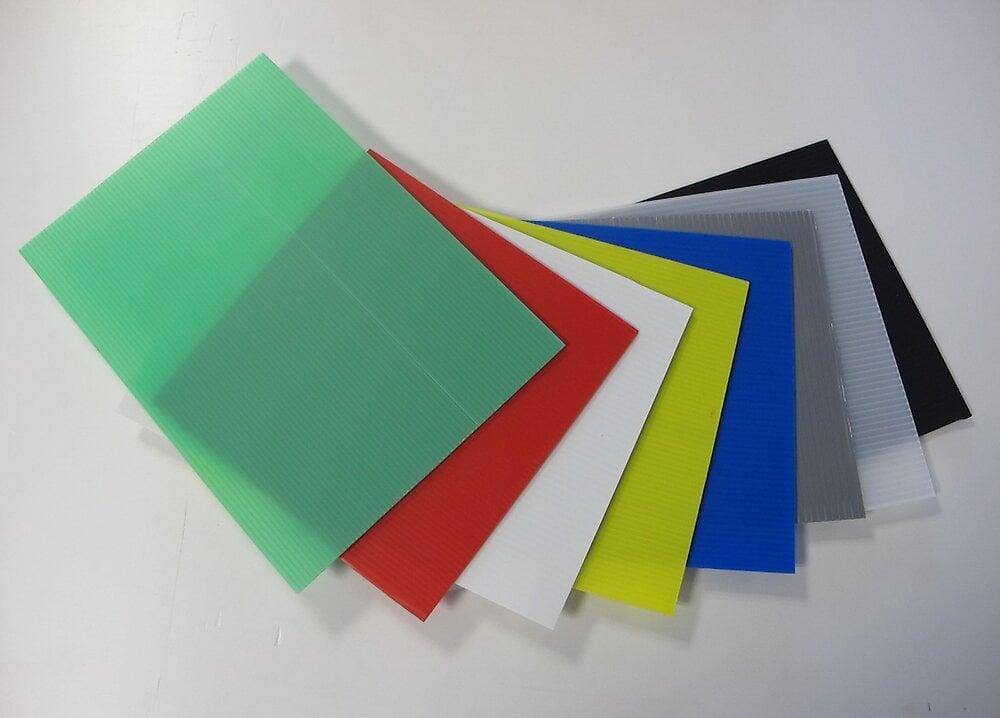 Plaque alvéolaire vert 1000x500x2.5mm