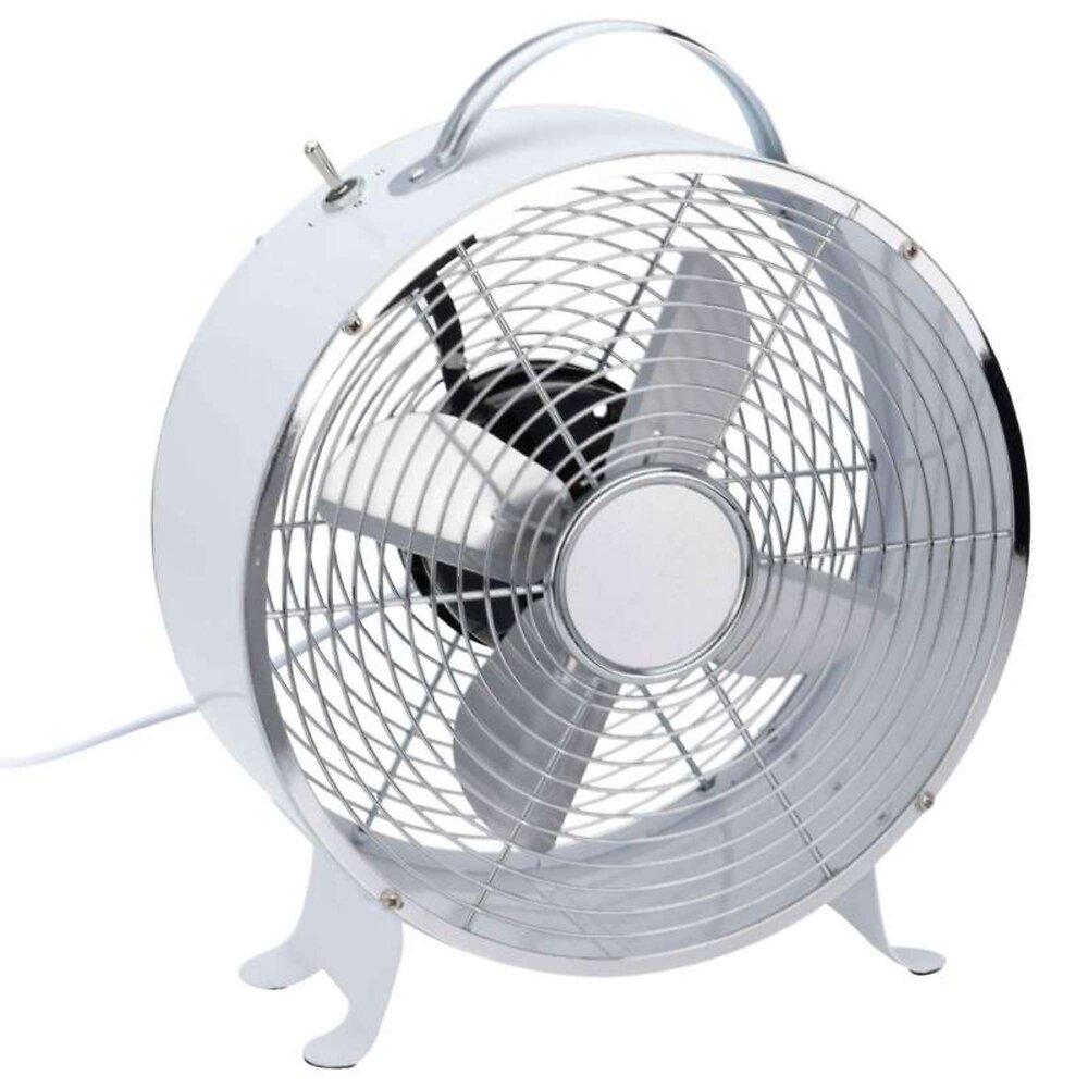 Ventilateur De Table Blanc 20 Watts