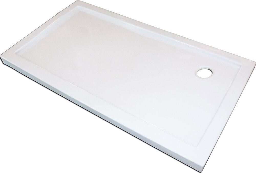 Receveur acrylique extraplat 80x120cm