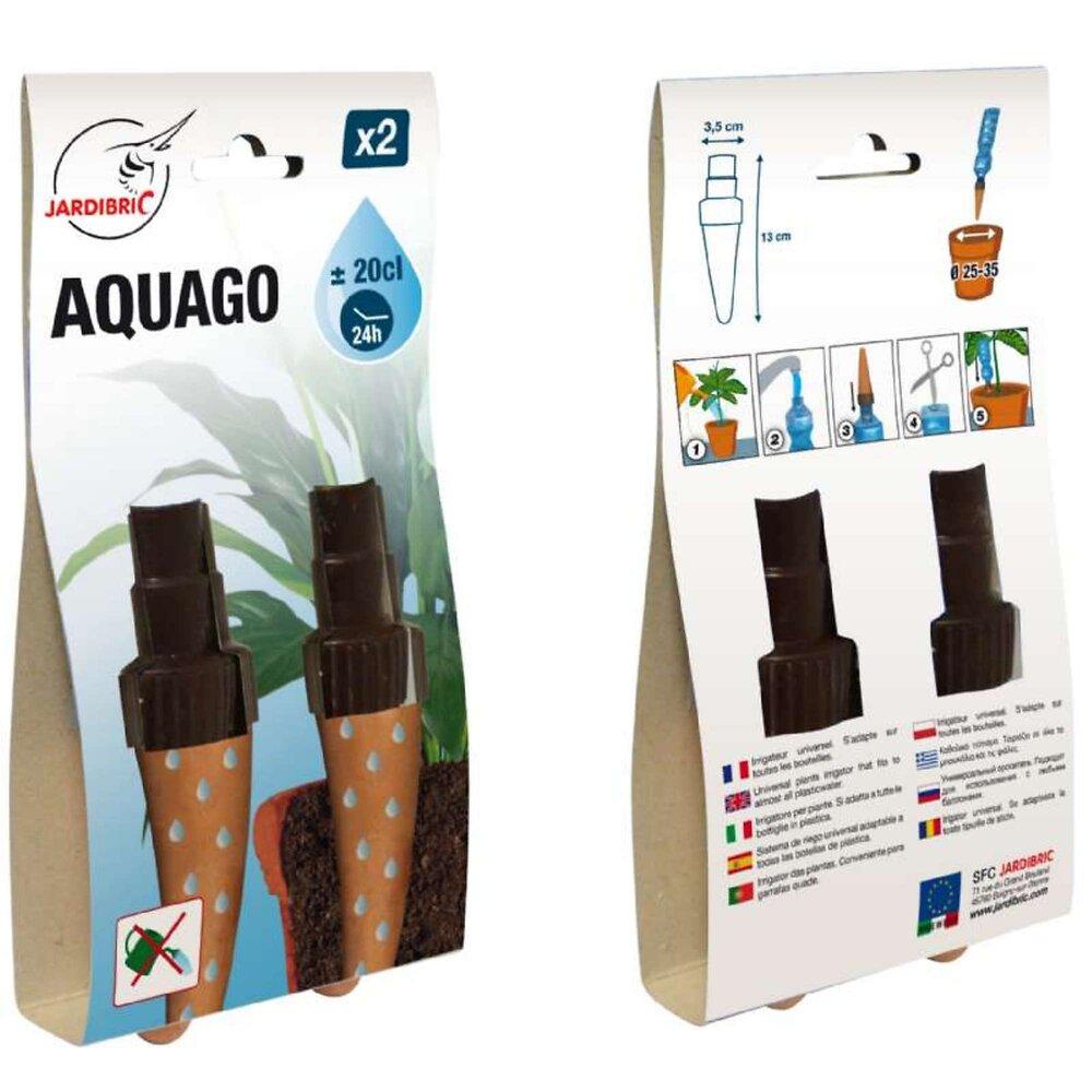 Arroseur Autonome Aquago Avec Cônes En Terre Cuite X 2 Pièces