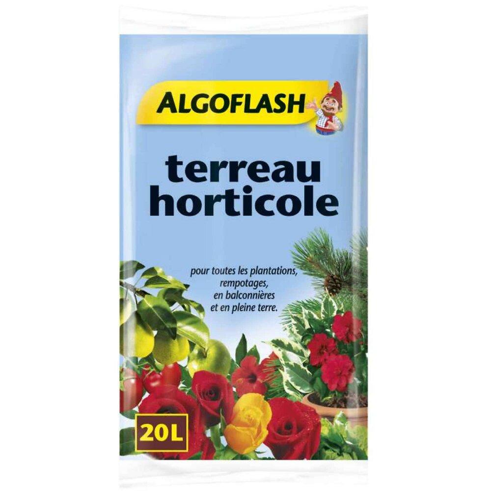 Terreau Horticole Algoflash 20 Litres