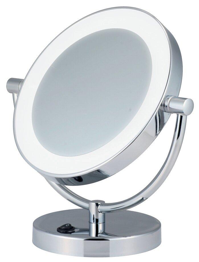 Miroir cosmétique PRADEL Mathilde lumineux sur pied 23 cm x 22,3 cm