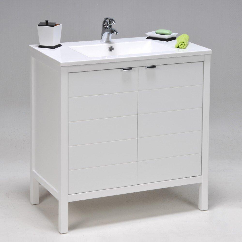 Meuble Sous-vasque Tribu 2 Portes / Blanc