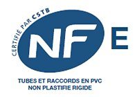 Raccord PVC/métal mâle/femelle 12x22mm diamètre 40mm