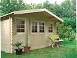 Abri de jardin en bois double porte 10 m²