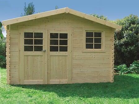 Abri de jardin en bois 9,18 m² Chimay