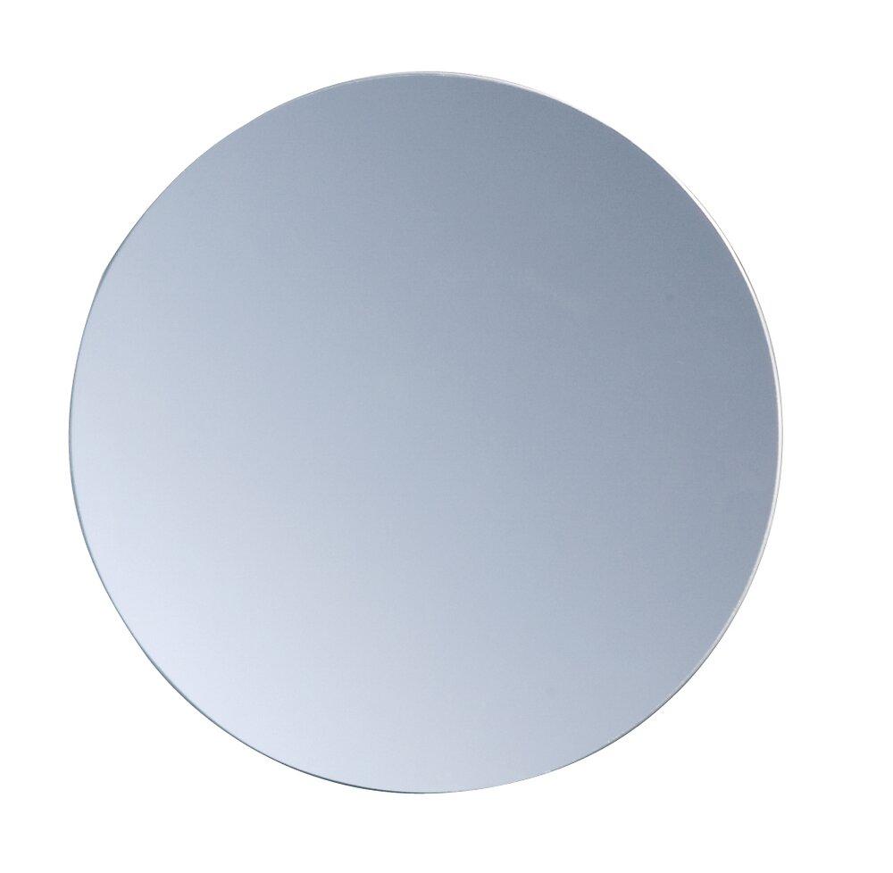 4 miroirs ronds adhésifs Ronneby diamètre 20 cm