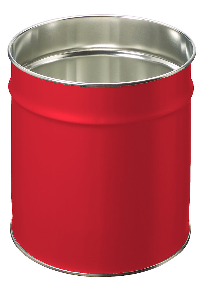 Corbeille 12 litres rouge