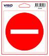 Sticker DEFENSE D'ENTRER 115x115 mm VISO