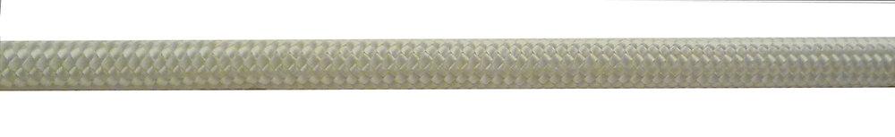Carotte drisse polypropylène - blanc-diamètre 3 / L 10M