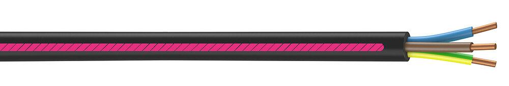 Câble électrique U1000 R2V 3x1.5mm2 - L.100m