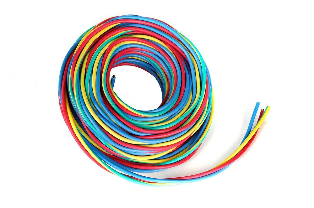 Câble électrique 3 fils H07V-U 2,5mm2 10m Speedfil