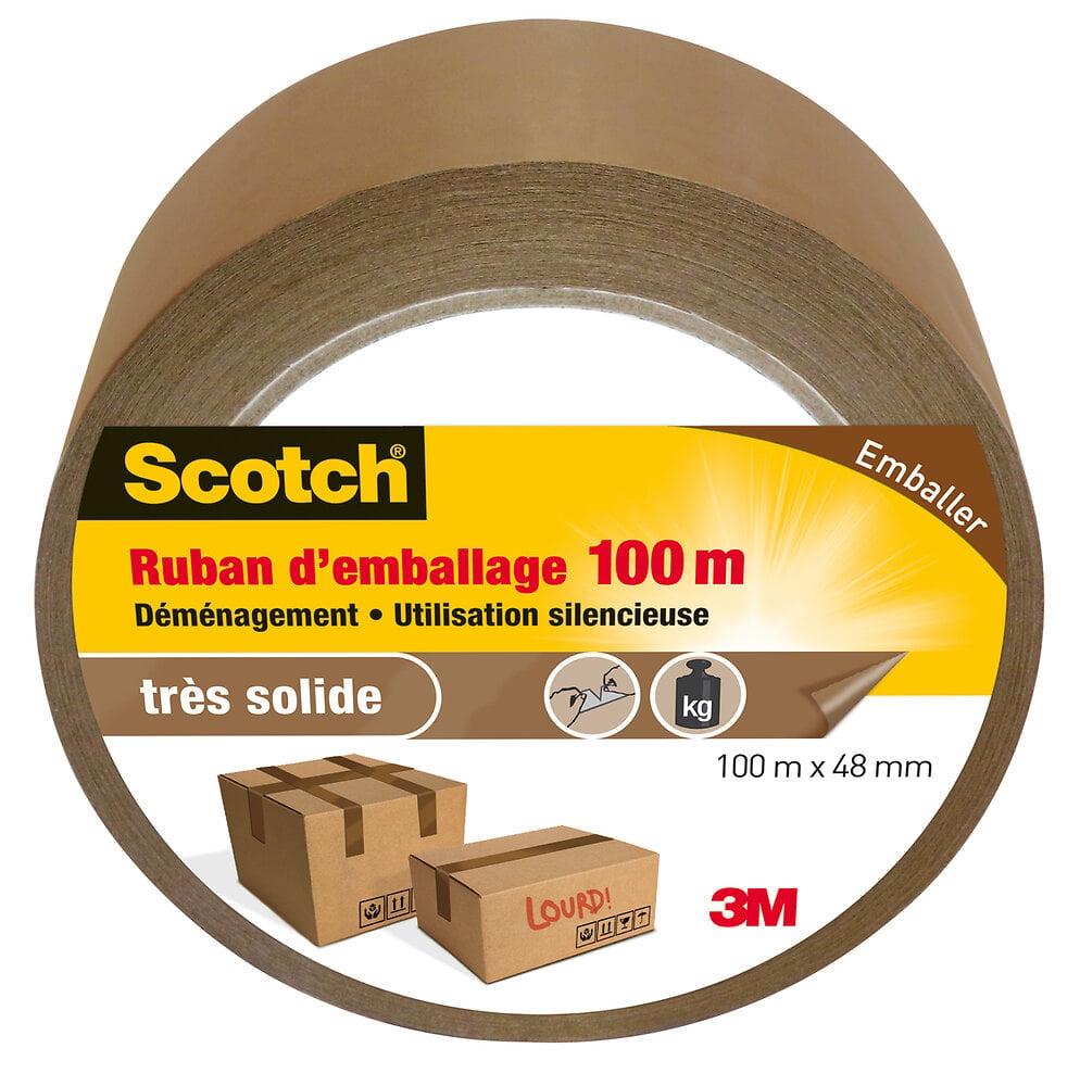 Ruban d'Emballage Marron 100mx48mm