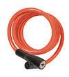Câble Spirale à clé 180cmx7mm couleurs, 2 clés