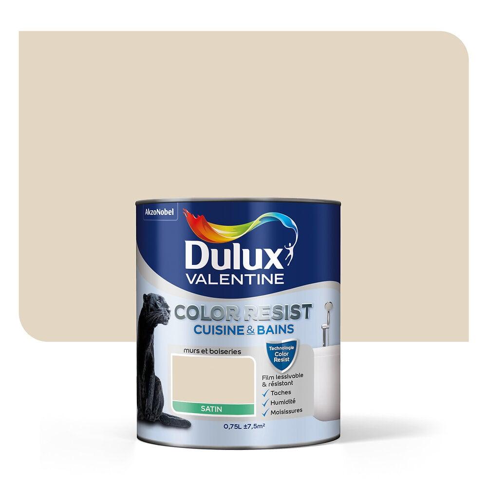 Color Resist Cuisine & Bains DULUX VALENTINE Cocon satin 0,75L