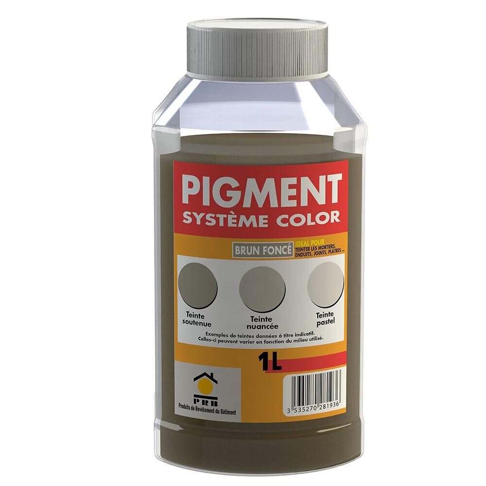 Pigments système couleur brun fonce 1l