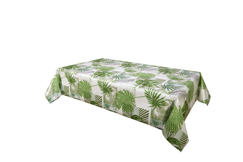 Nappe biais rectangle 140x200cm Modèle Banaphy vert