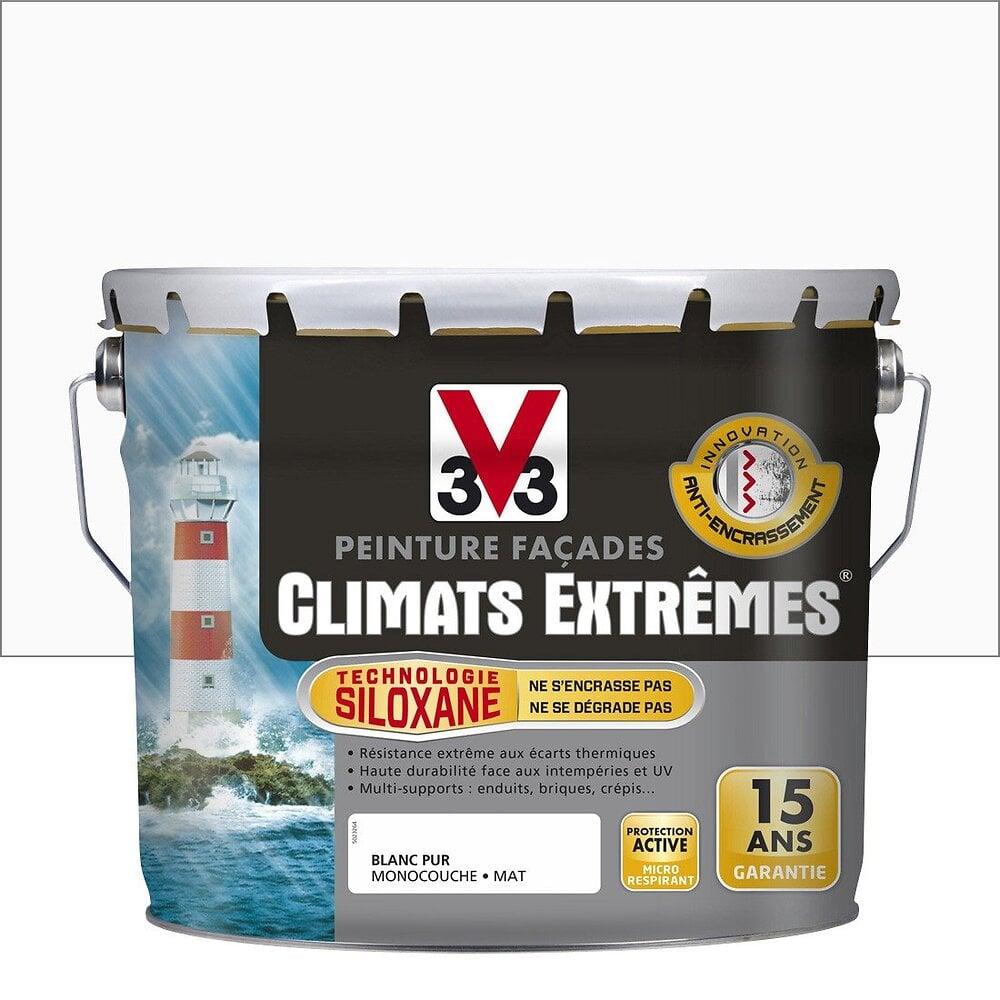 Peinture façades Climats Extrêmes Mat Blanc pur 10l