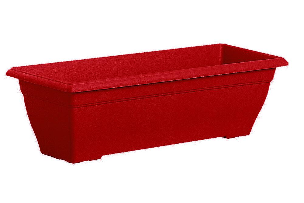Jardinière Prisca 50 rouge