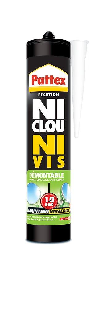 Colle fixation NCNV Démontable cartouche 400g