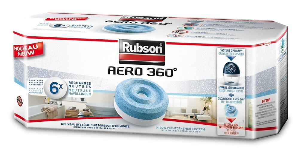 Absorbeur AERO 360 Recharge Neutre Lot de 6