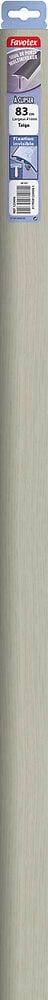 Barre de seuil en aluminium à clipser aluminium taiga