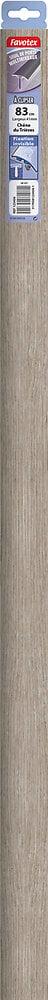 Barre de seuil en aluminium à clipser chêne du Trièves