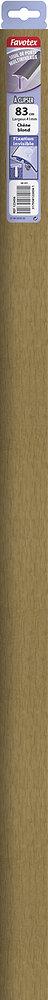 Barre de seuil en aluminium à clipser chêne blond