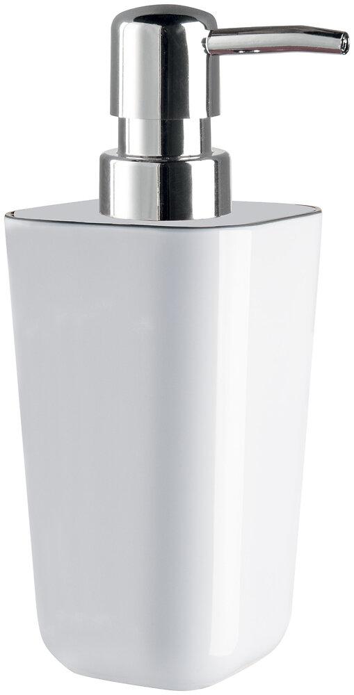Distributeur de savon liquide Yin mélaminé blanc gris