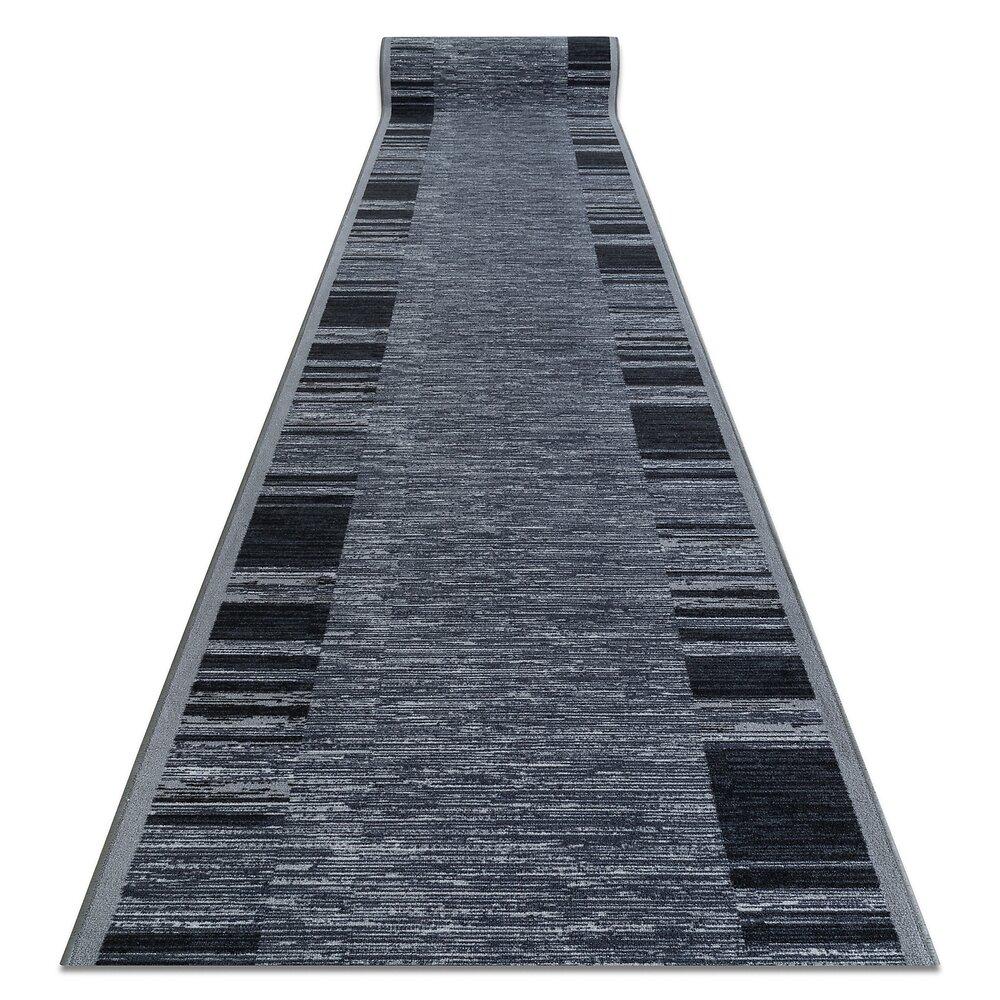 Tapis De Couloir  Antidérapant Adagio Gris 57x180 Cm